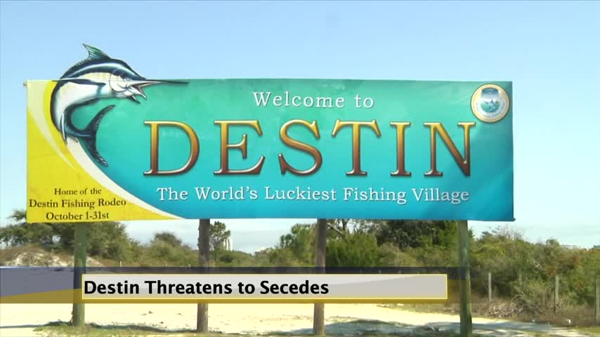 Okaloosa Officials Concerned With Destin's Threats