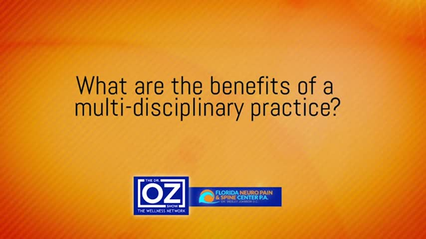 GEN - What are the benefits of a multi disciplinary practice