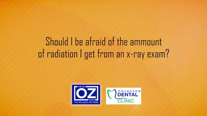 ADV dental - Should I be afraid of the amount of radiation