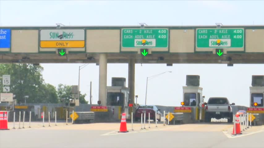 Tolls Resume in Florida