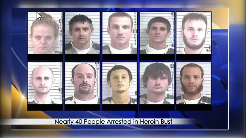 Nearly 40 People Arrested In Bay County Heroin Drug Bust