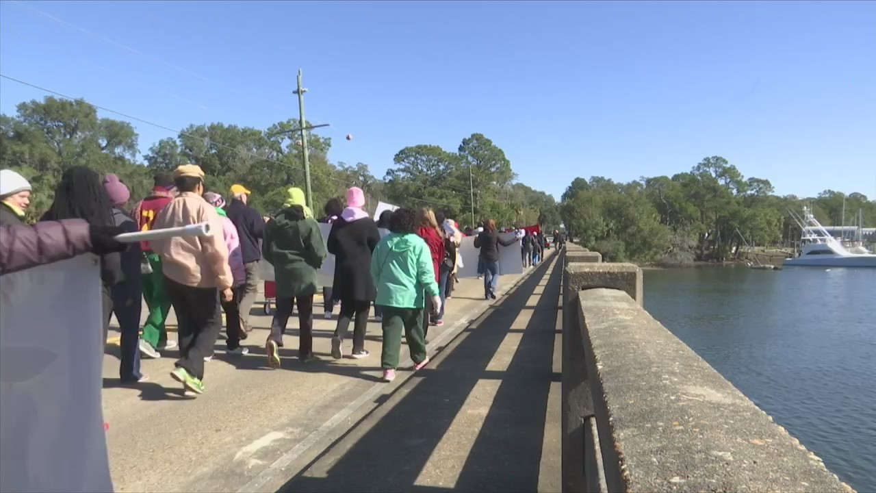 Community Marches in Honor of Martin Luther King Jr.