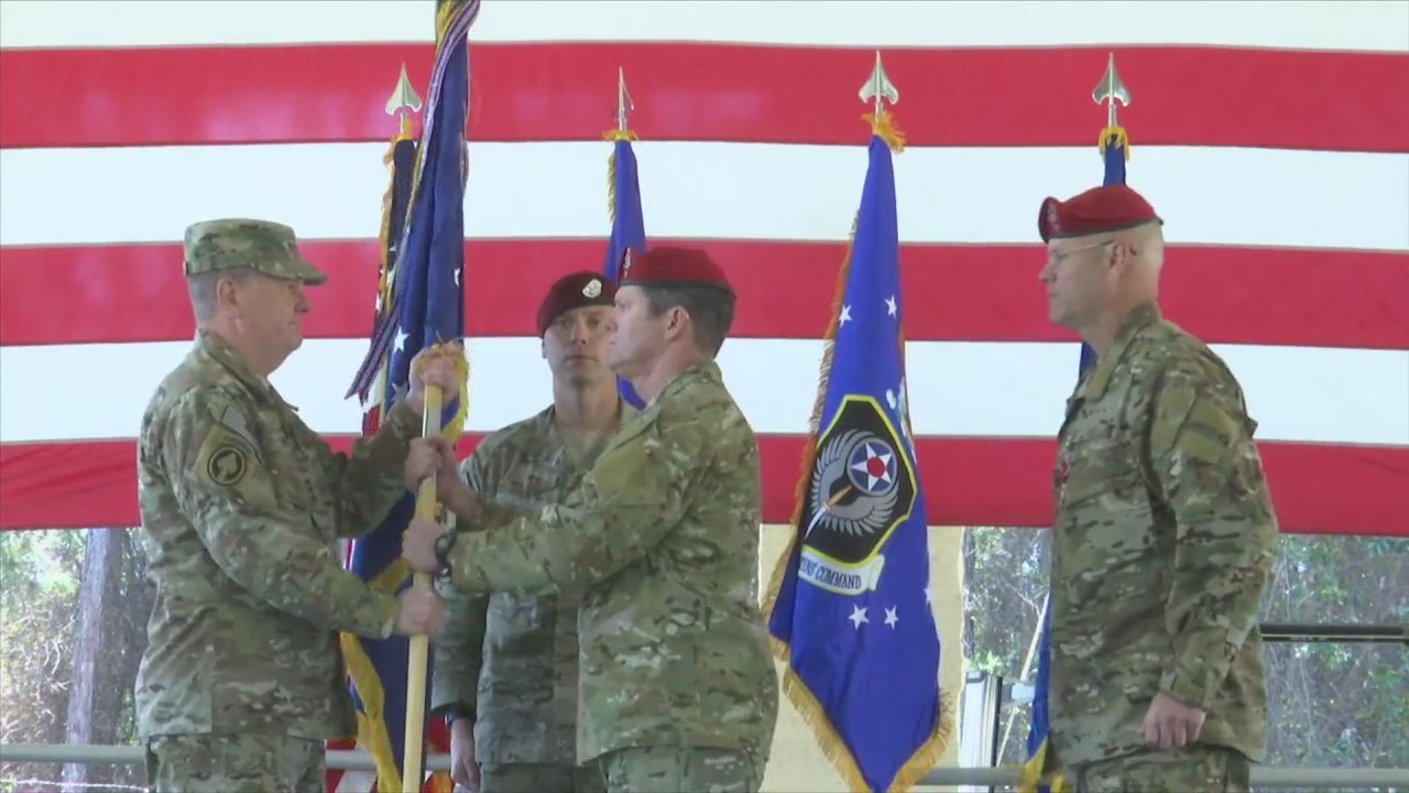 Hurlburt Field Announces Change of Command