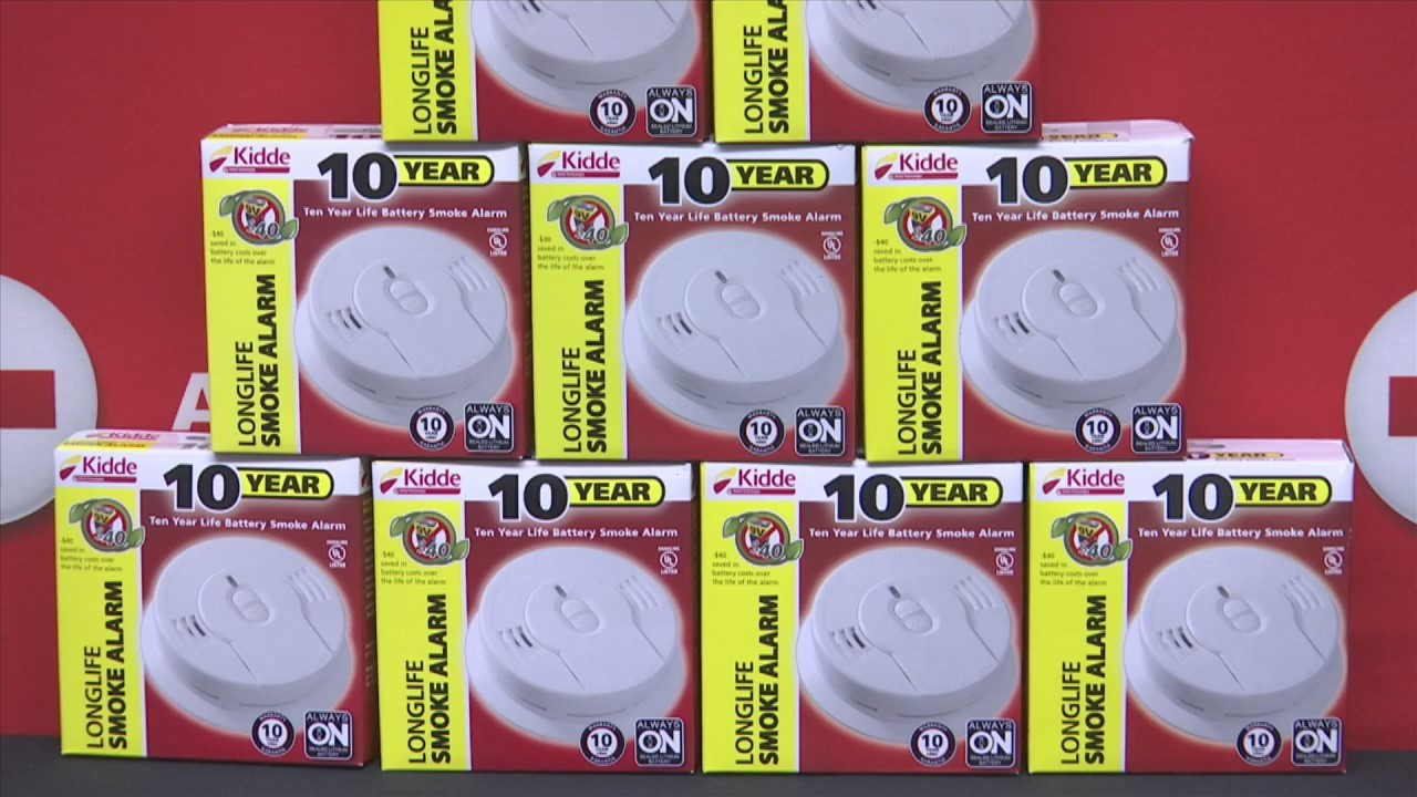 American Red Cross Donates Free Smoke Alarms With Installation