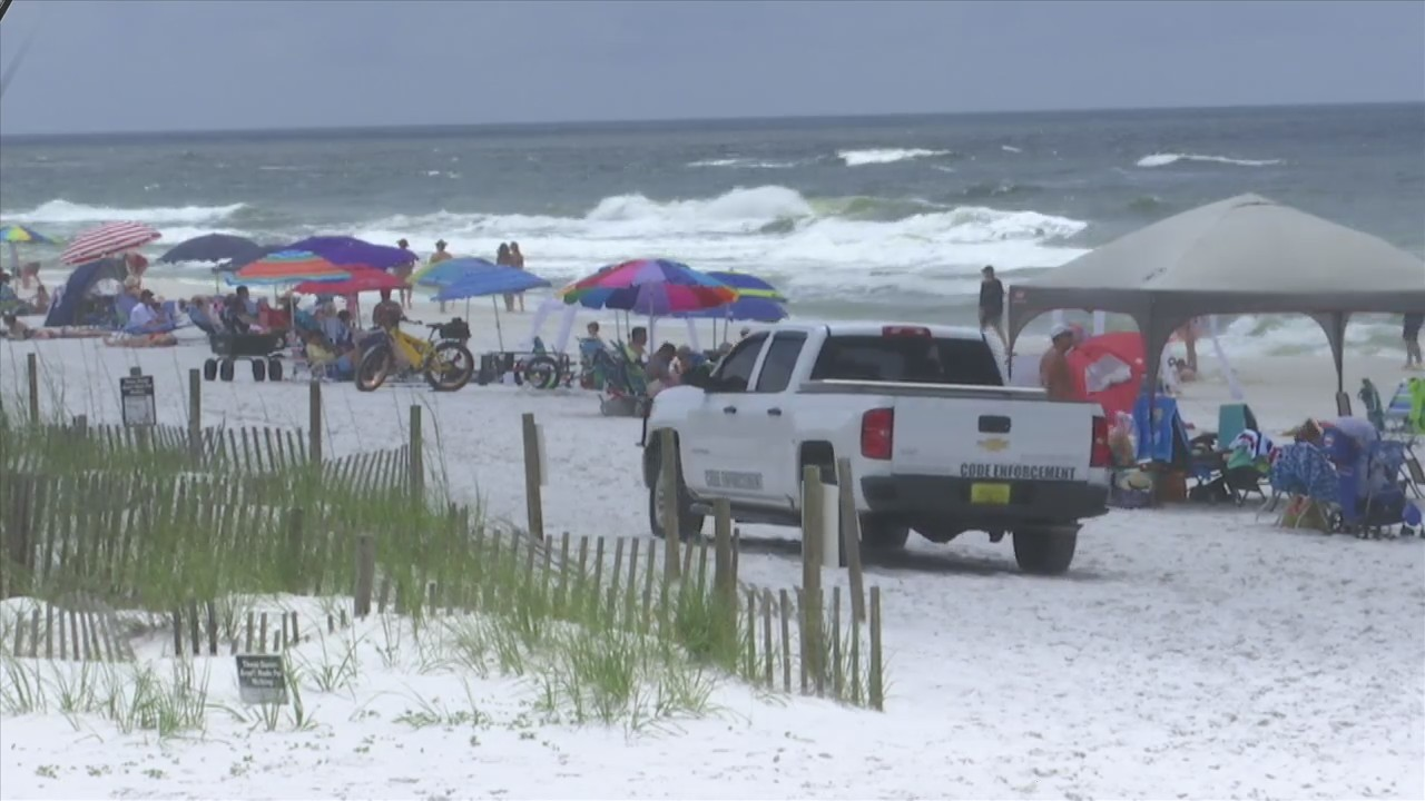 Remnants of Alberto Continue to Create Rough Waters Along the Coast