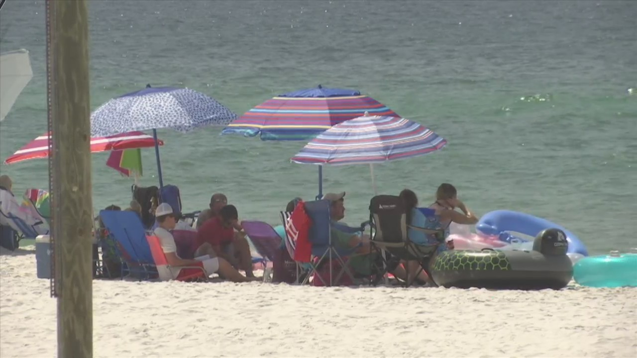 DOZENS RESCUED FROM WATERS IN OKALOOSA COUNTY