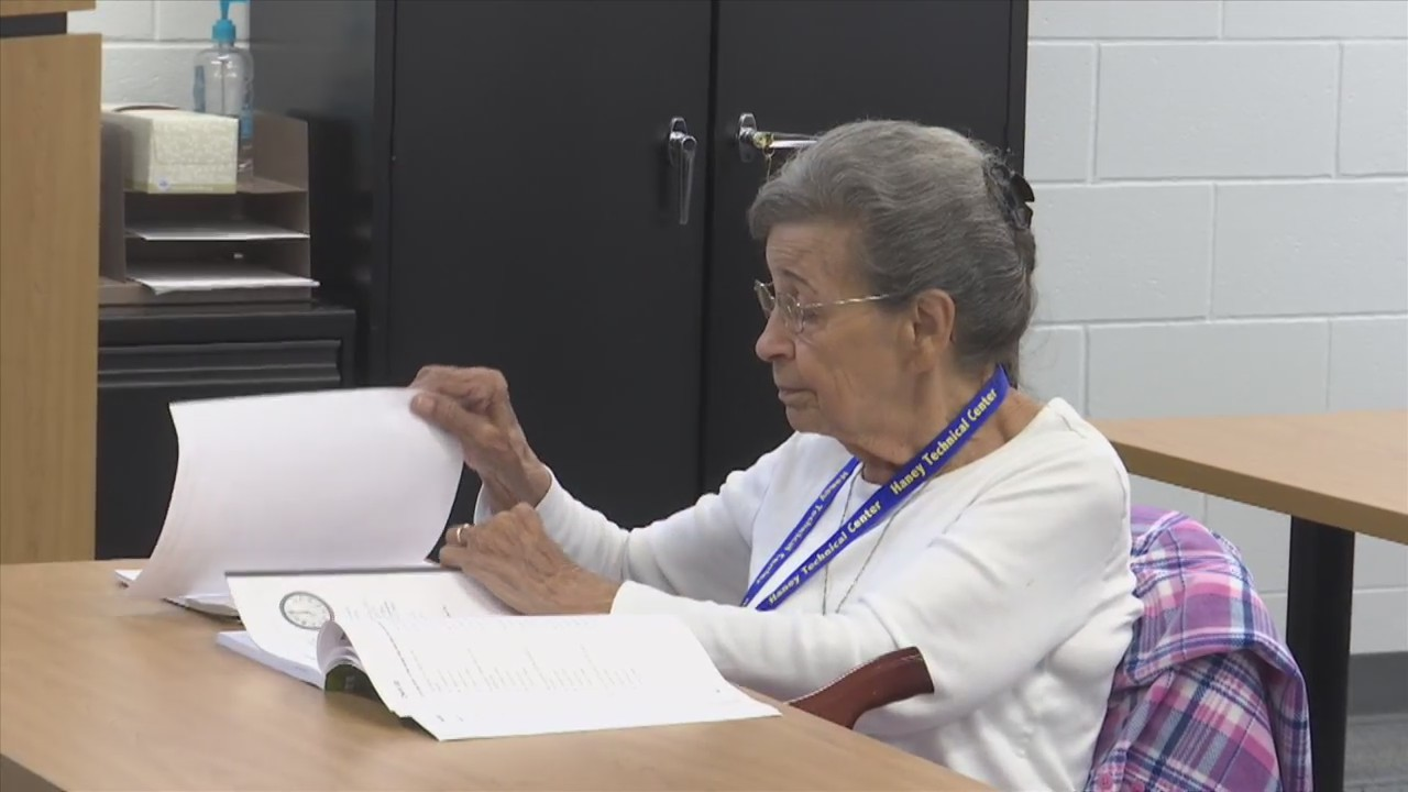 80-Year-Old GED Student