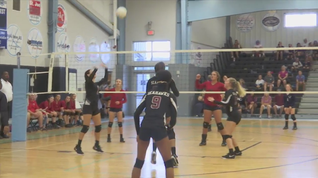 North Bay Haven holds program's first volleyball tournament