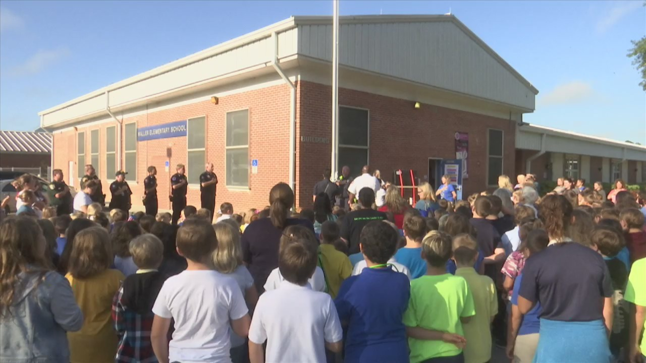 Waller 9/11 Ceremony