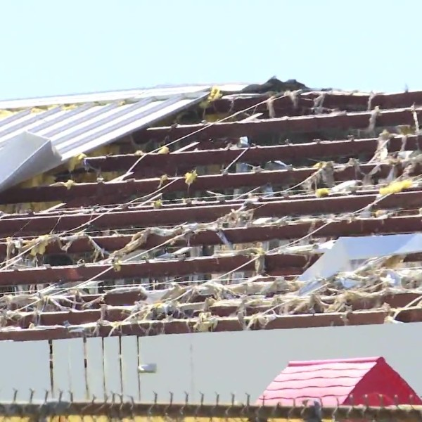 Roof ripped from Tyndall Elementary, Superintendent says it could take 'months' for kids to get back to school