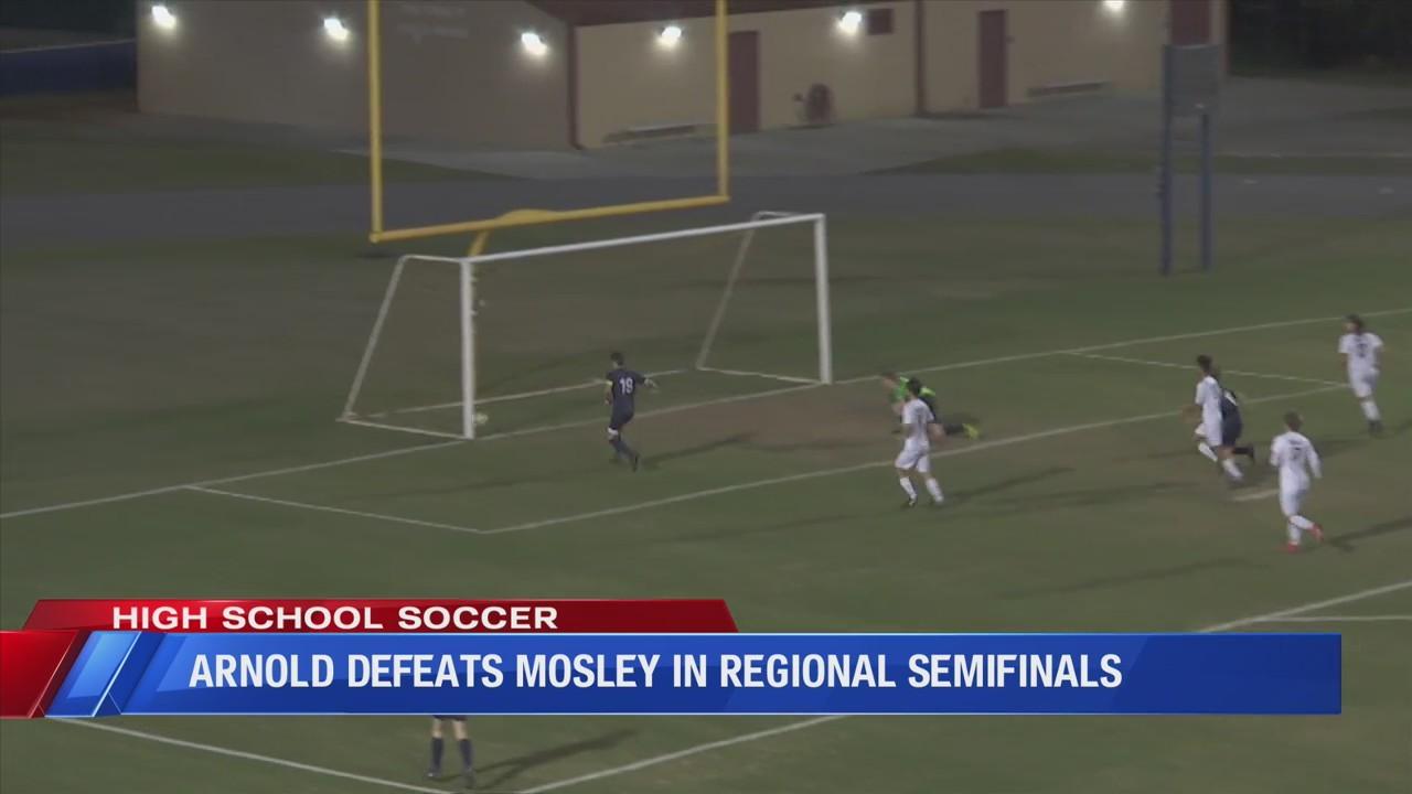 Arnold defeats Mosley in regional semifinals