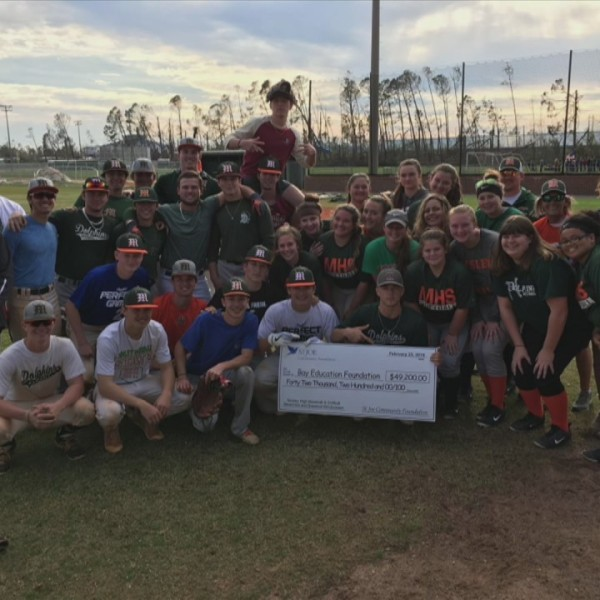 Mosley Baseball and Softball receive major donation from St. Joe Foundation