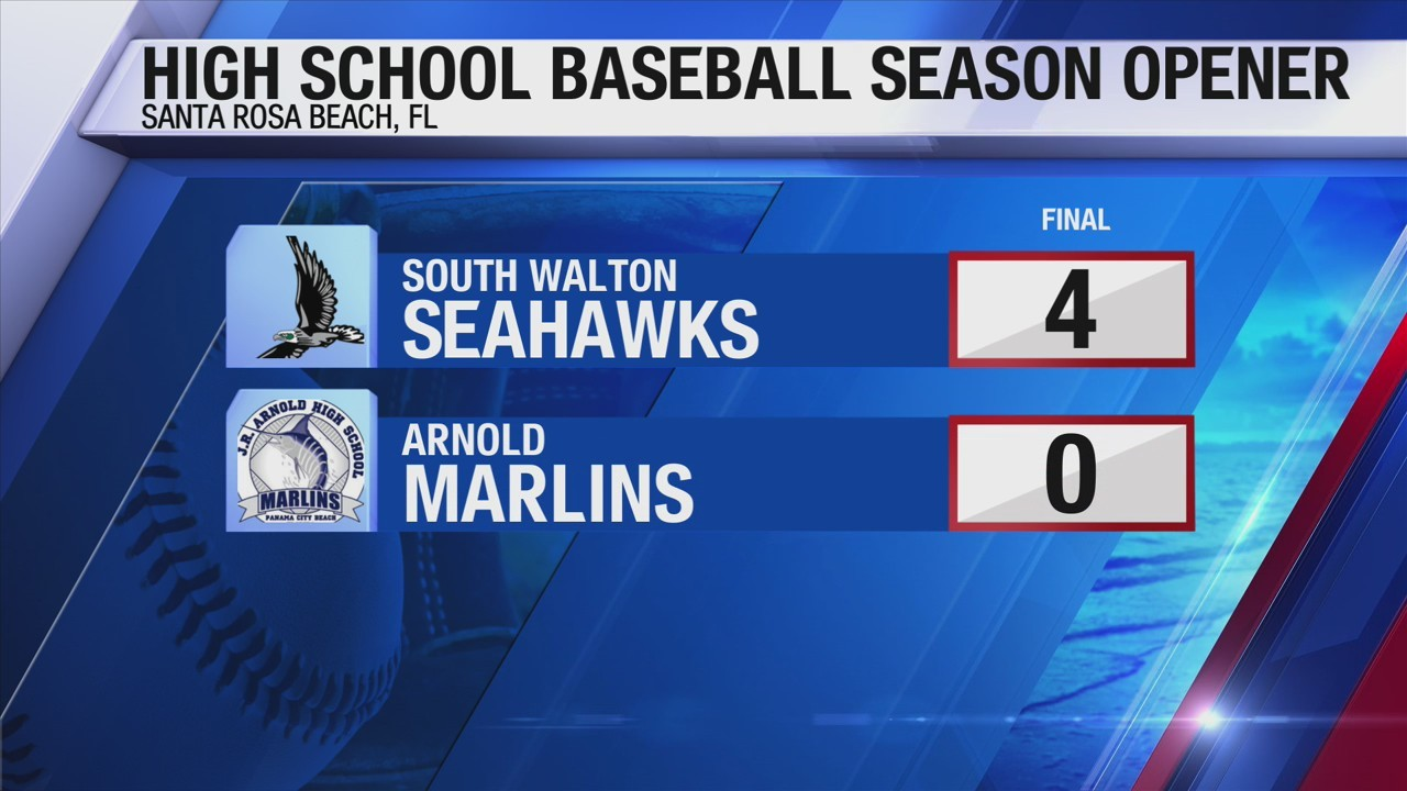 South Walton, North Bay Haven pick up wins in baseball season openers