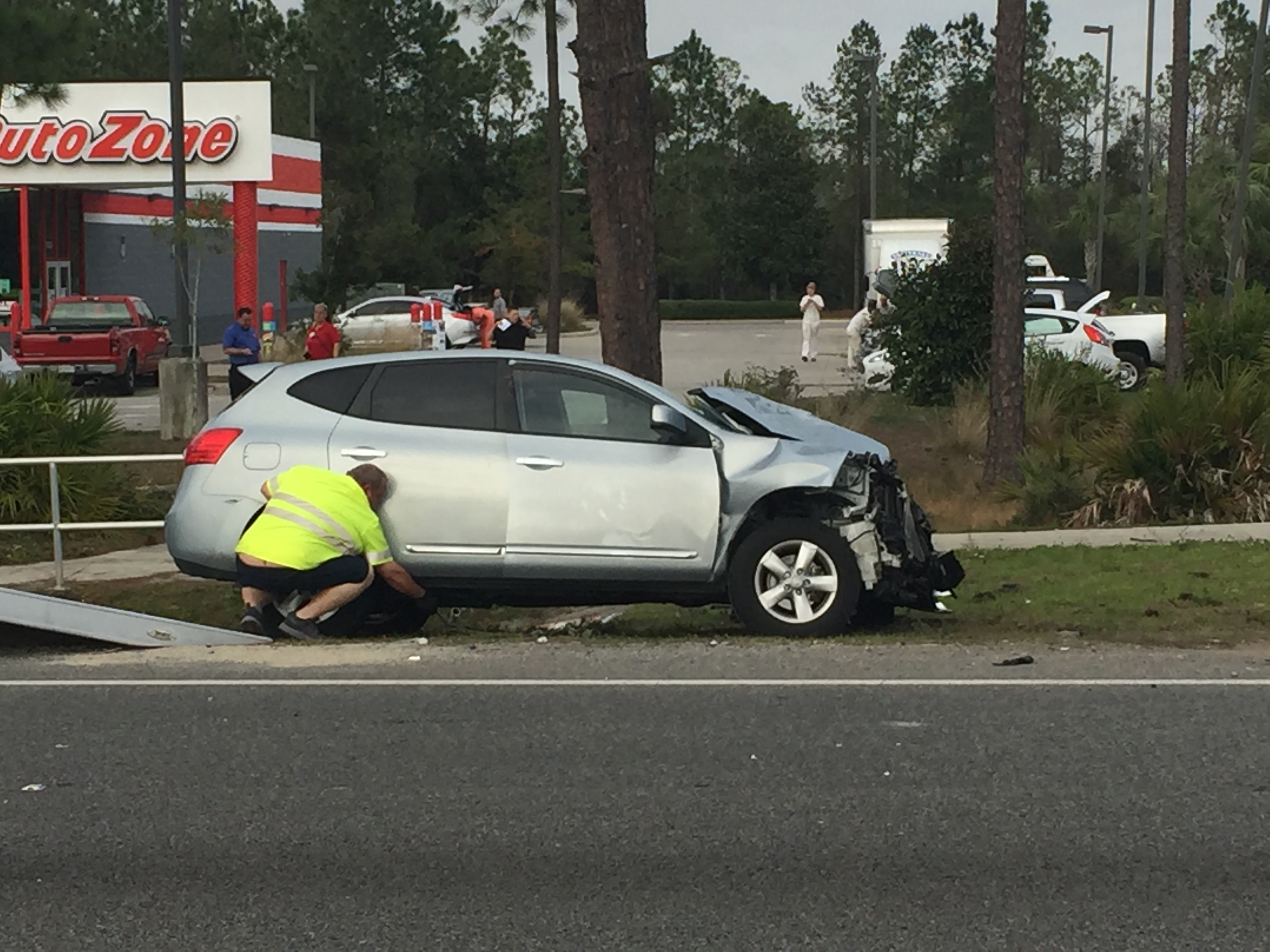 3 Injured in Panama City Beach Rollover Accident