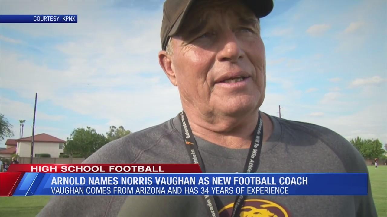 Arnold High School names Norris Vaughan as their next head football coach
