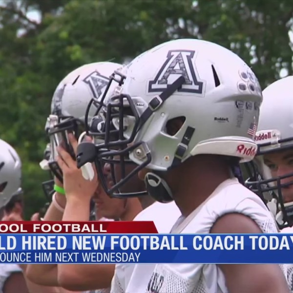 Arnold hired new football coach Wednesday