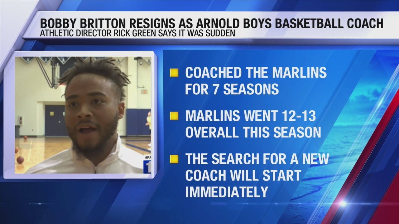 Bobby Britton resigns as Arnold boys basketball coach