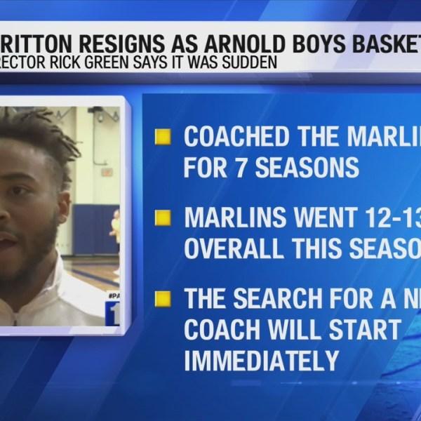 Bobby Britton resigns as Arnold boys basketball coach