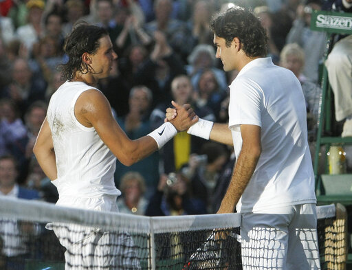 Rafael Nadal, Roger Federer