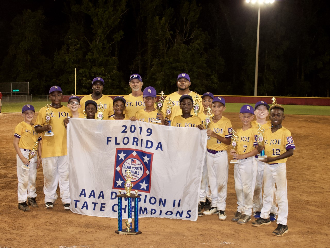Port St  Joe holds a parade for Dixie Youth Baseball state champions