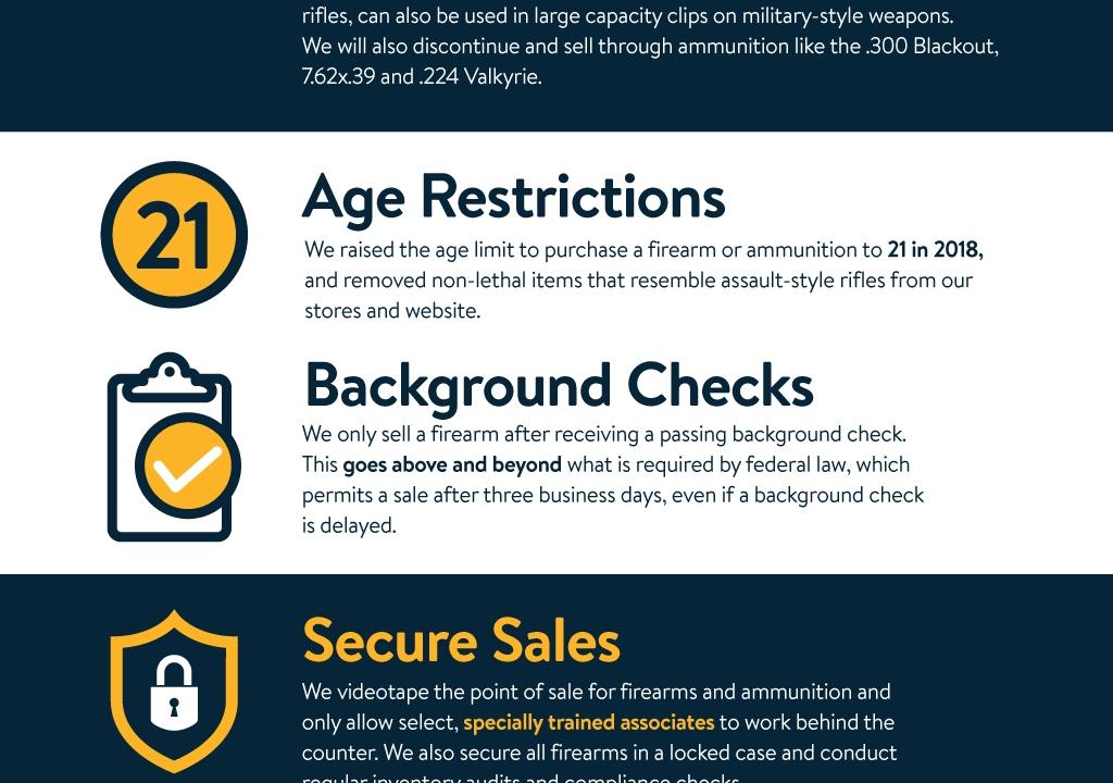 Walmart to stop selling handgun ammunition   WMBB