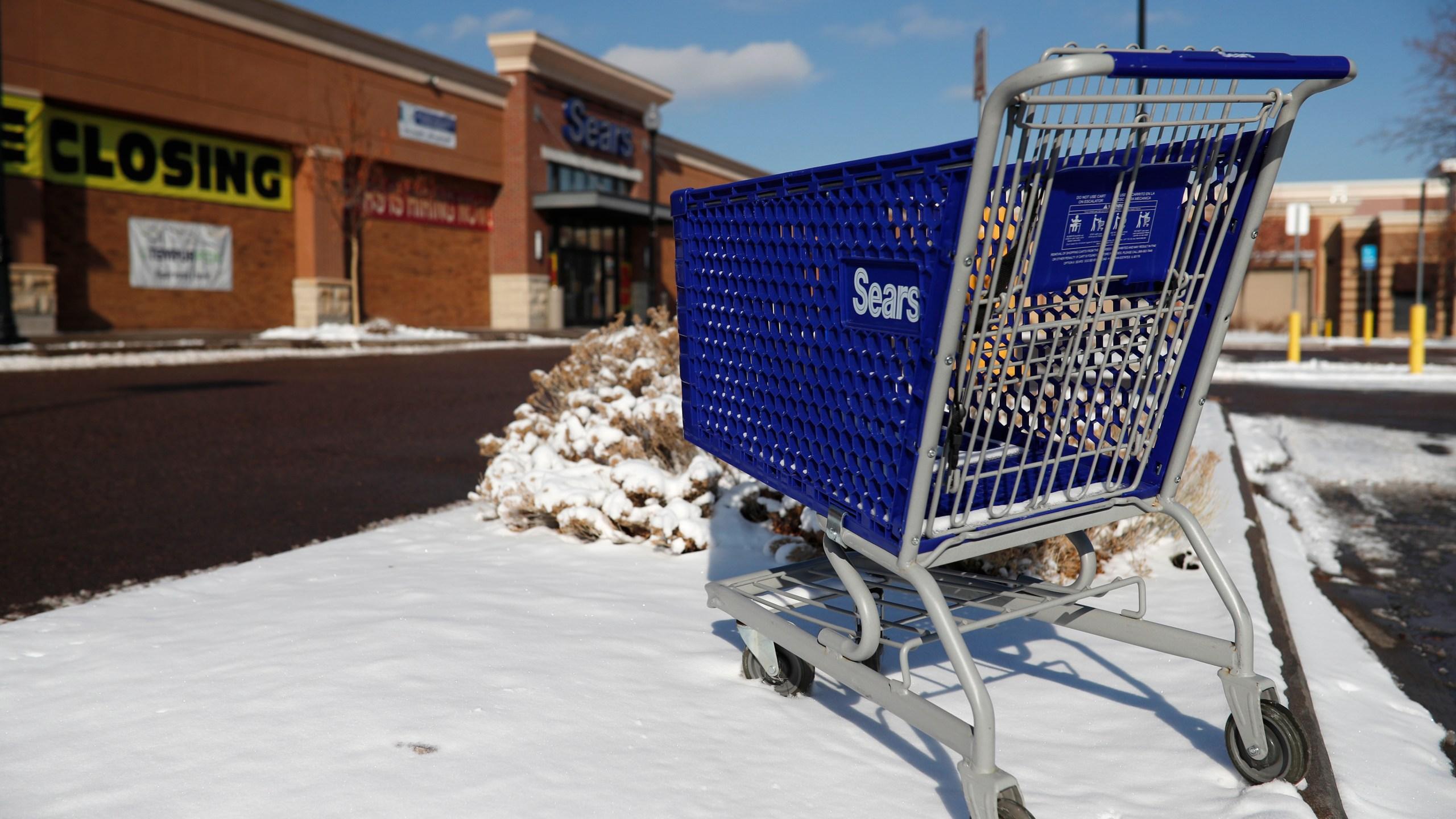 Sears store Streets of Southglenn, shopping cart, Sears store in Streets of Southglenn