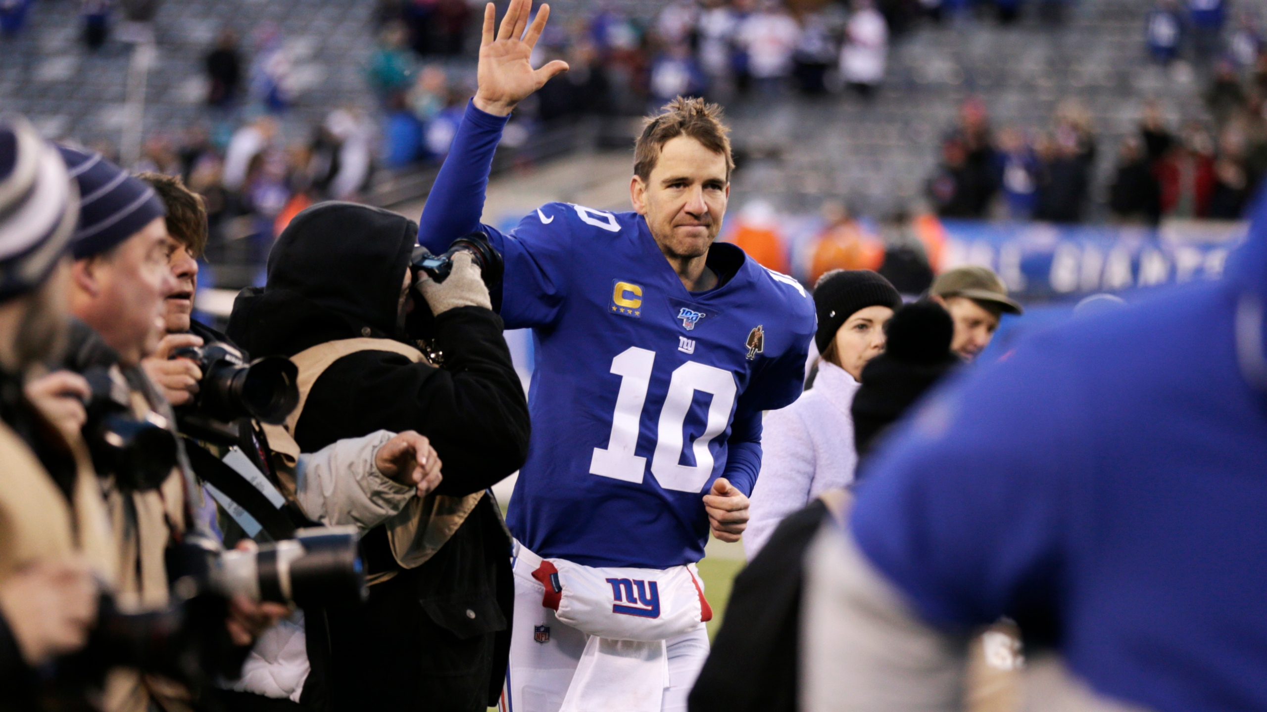 Eli Manning Likely Making His Final Ny Giants Appearance Wmbb