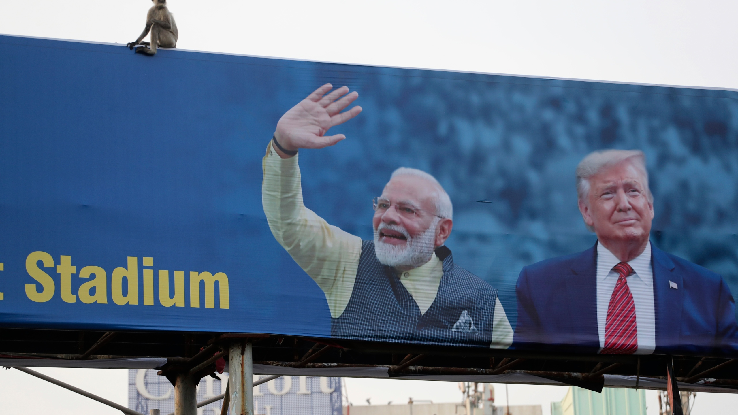 Passage To India Trump Ready For Warm Embrace Adulation