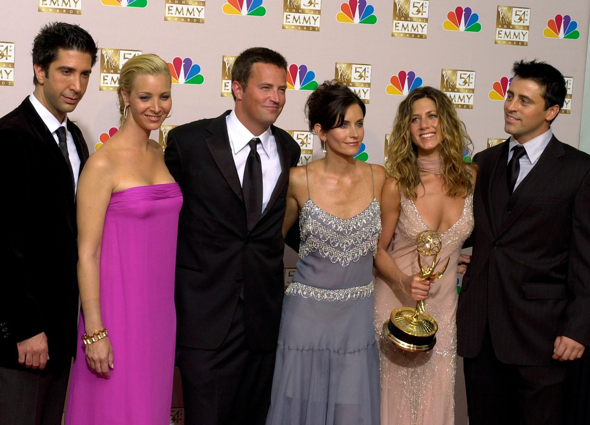 David Schwimmer, Lisa Kudrow, Matthew Perry, Courteney Cox, Jennifer Aniston, Matt LeBlanc