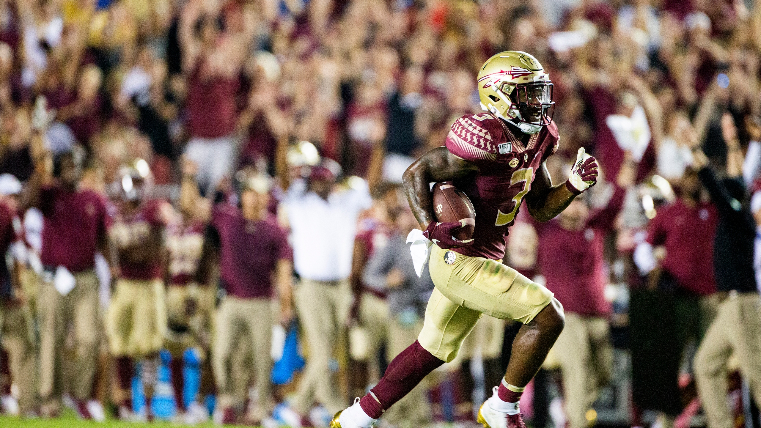 Fsu Running Back Cam Akers Drafted By Los Angeles Rams Mypanhandle Com Wmbb Tv