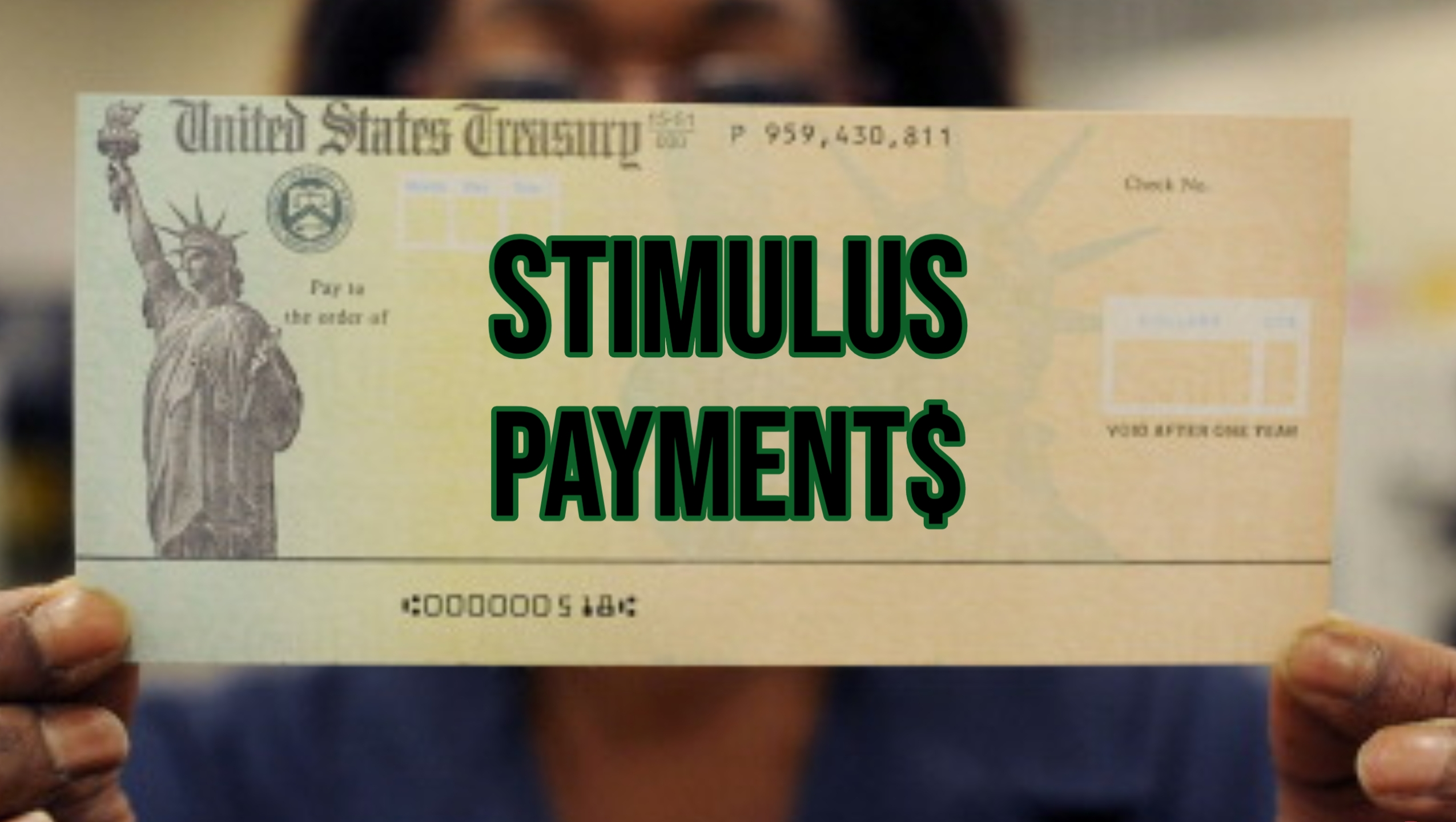 For some, stimulus money could already be on a card ...