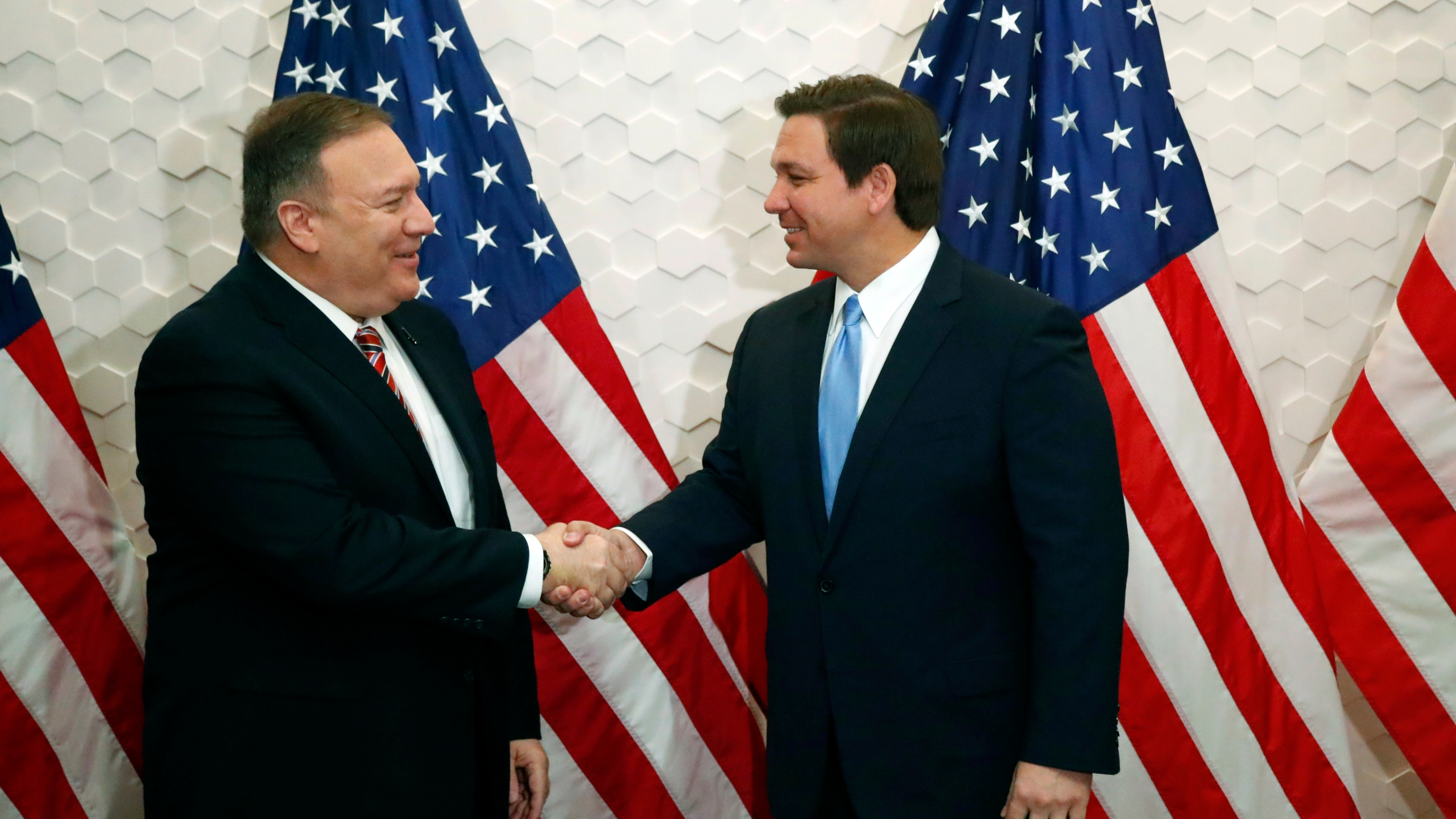 Ron DeSantis, Mike Pompeo