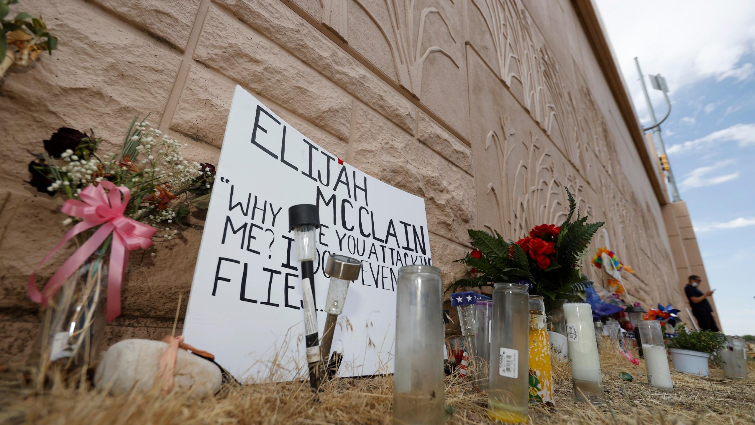 elijah Mcclain memorial, r m