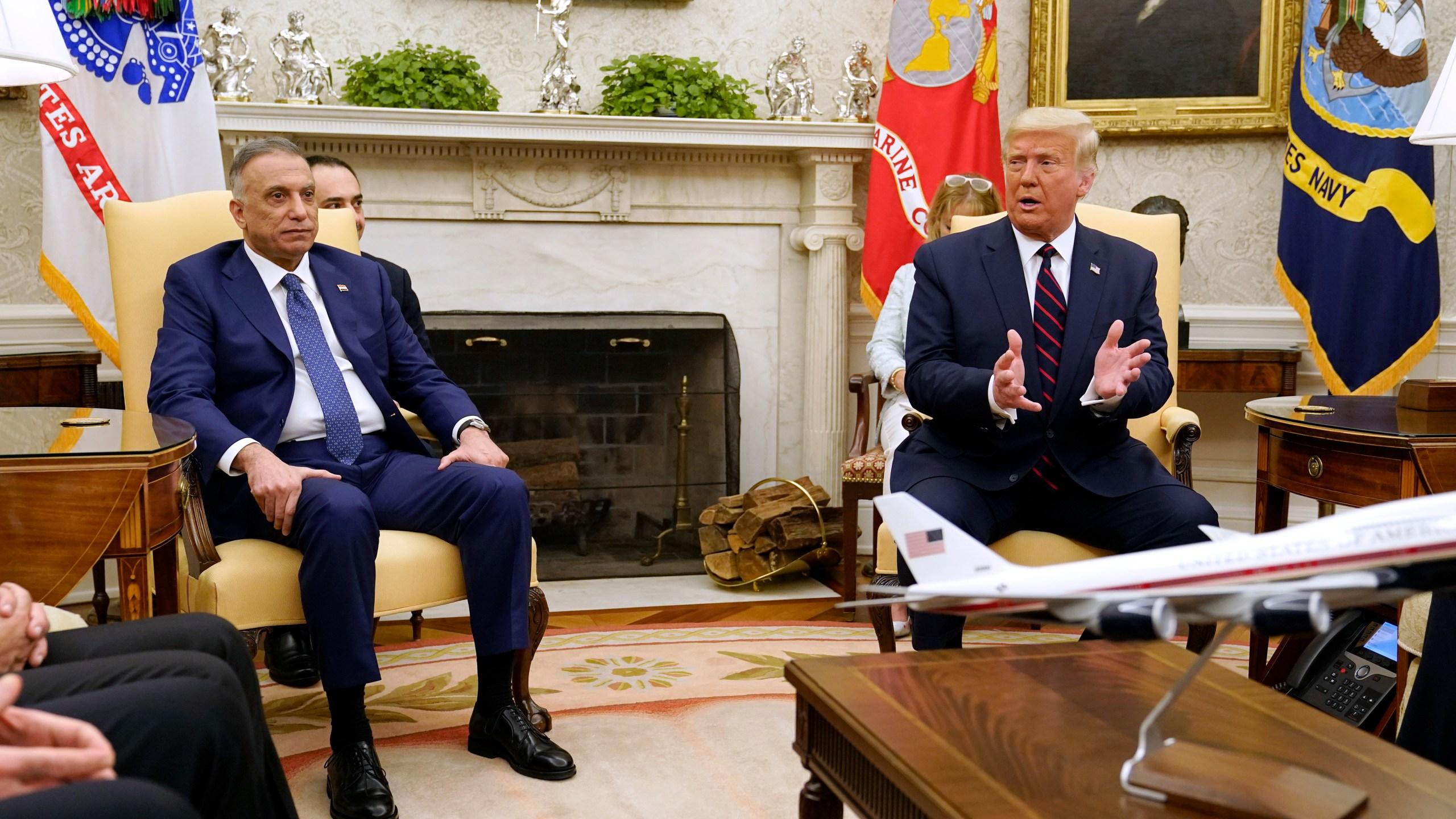 Donald Trump, Mustafa al-Kadhimi