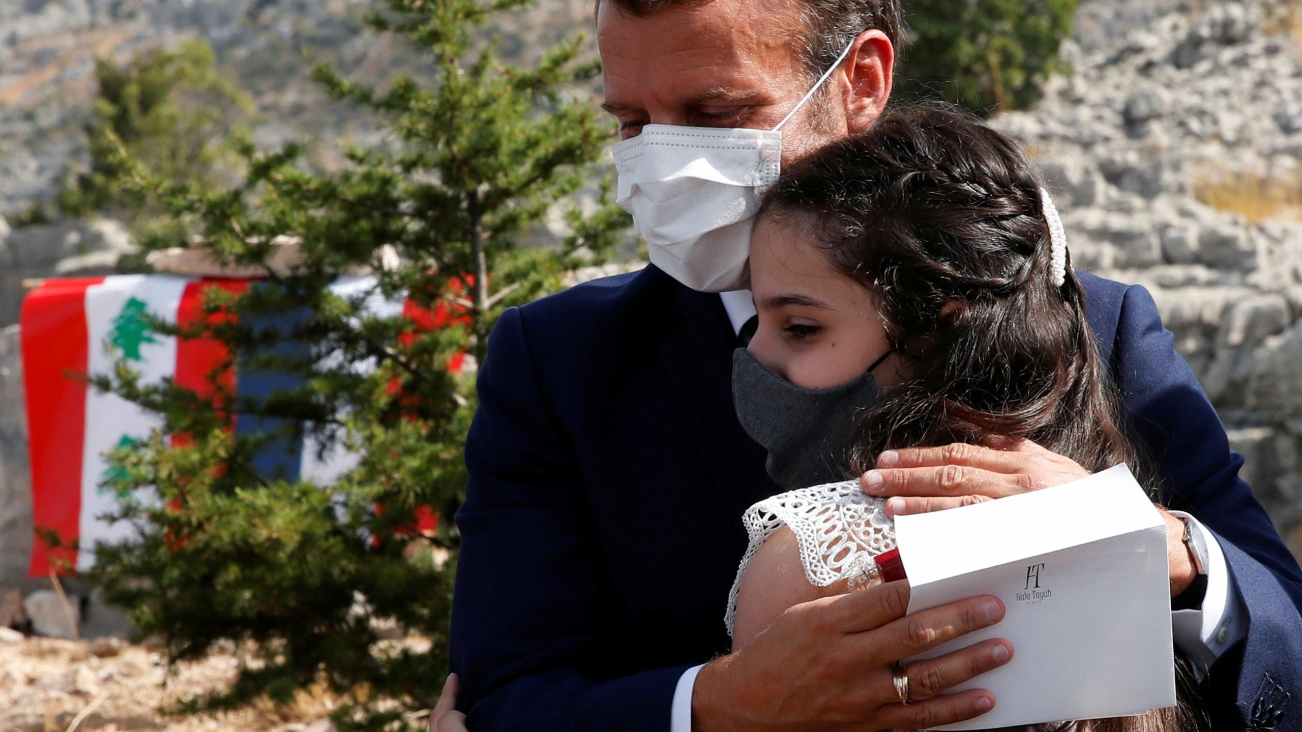 French President Emmanuel Macron visits Lebanon